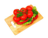 Raw vegetables — Foto de Stock
