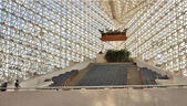 Crystal Cathedral interior — Stock Photo