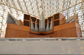 Crystal Cathedral pipe organ — Stock Photo