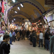 Shopping in the Grand Bazaar, Istanbul — Stock Photo