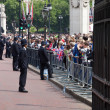 Stock Photo: Crowd of spectators in London