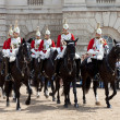 Stock Photo: The Horse Guard Changing Ceremony