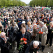 Celebration of Victory Day (Eastern Europe) in Riga — Stock Photo