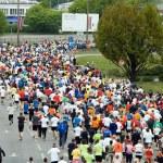 Marathon runners — Stock Photo #7924457