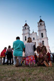 Celebration of the Assumption of the Virgin Mary in Aglona — Stock Photo