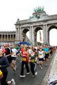 Brussels marathon 2009 — Stockfoto