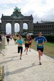 Bryssel marathon 2009 — Stockfoto