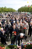Celebration of Victory Day (Eastern Europe) in Riga — Stockfoto