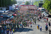 Mezinárodní maraton riga — Stock fotografie