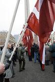March 16 in Riga — Stock Photo