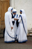 Sisters of Missionaries of Charity — Stock Photo