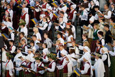 Song festival in Riga, Latvia — Stock Photo