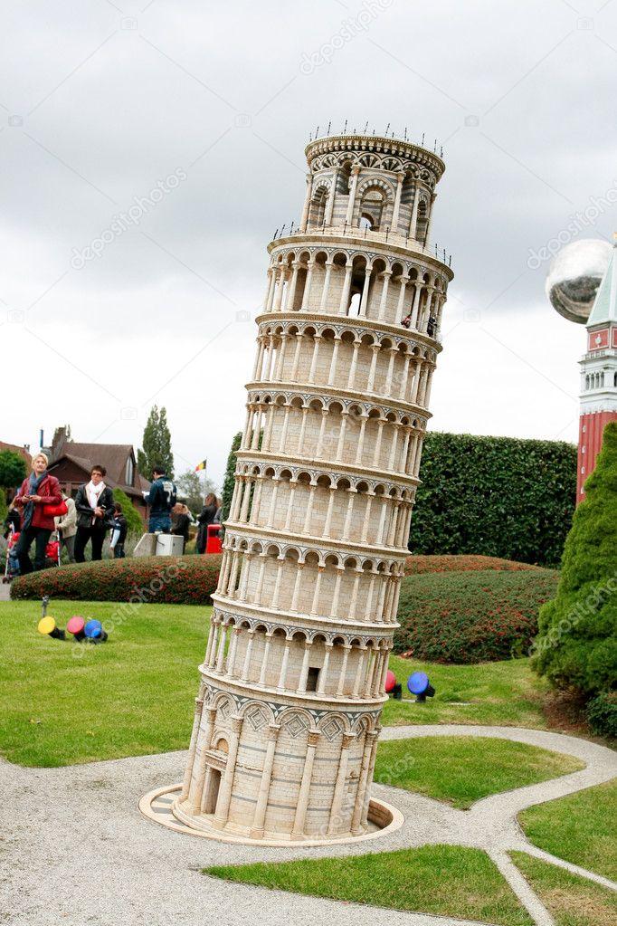 Tower Pisa Parking Model of Pisa Tower in