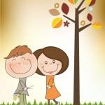 Happy lovers couple — Stock Photo