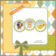 Baby shower invitation — Stock Photo #7202856
