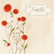Floral background - Stok fotoraf