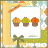 Happy Birthday cupcakes — Foto Stock