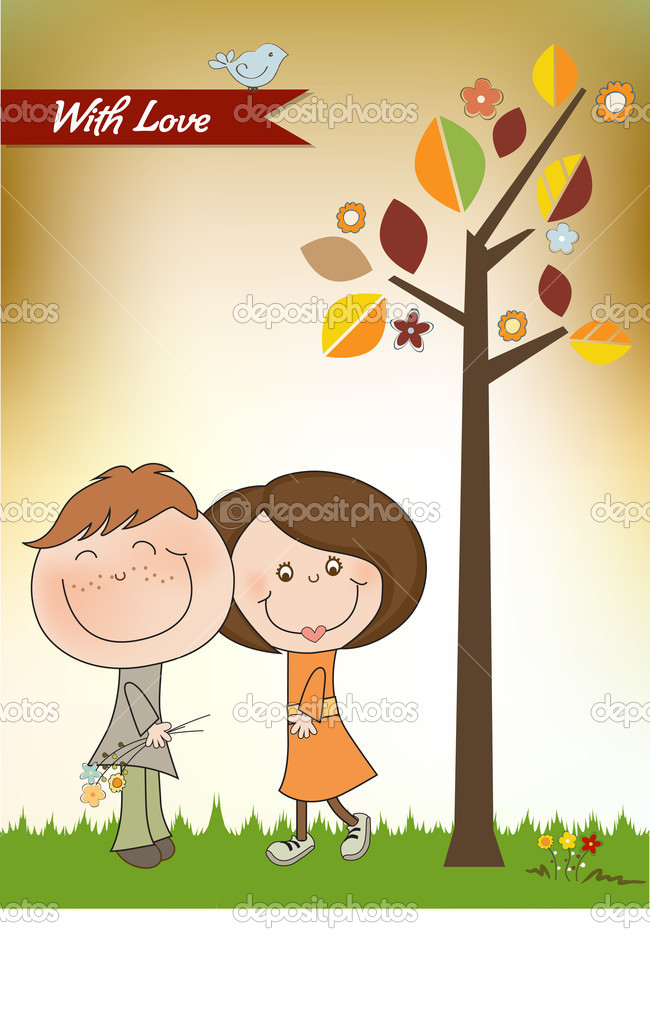 Happy lovers couple   Stock Photo #7201682