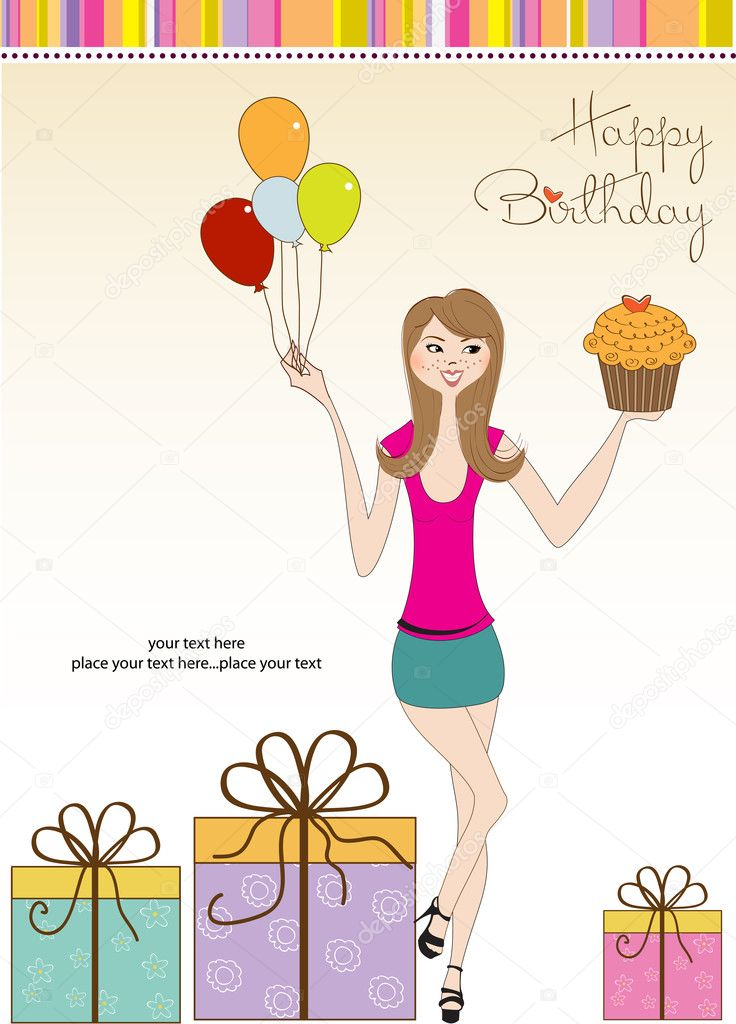 Sweet Sixteen Birthday card with young girl Photo – Sweet Sixteen Birthday Greetings