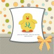Baby shower card — Foto Stock