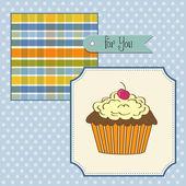 Urodziny ciastko — Zdjęcie stockowe