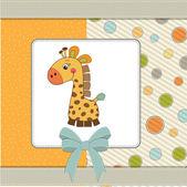 Hoş geldin bebek kartı — Stok fotoğraf