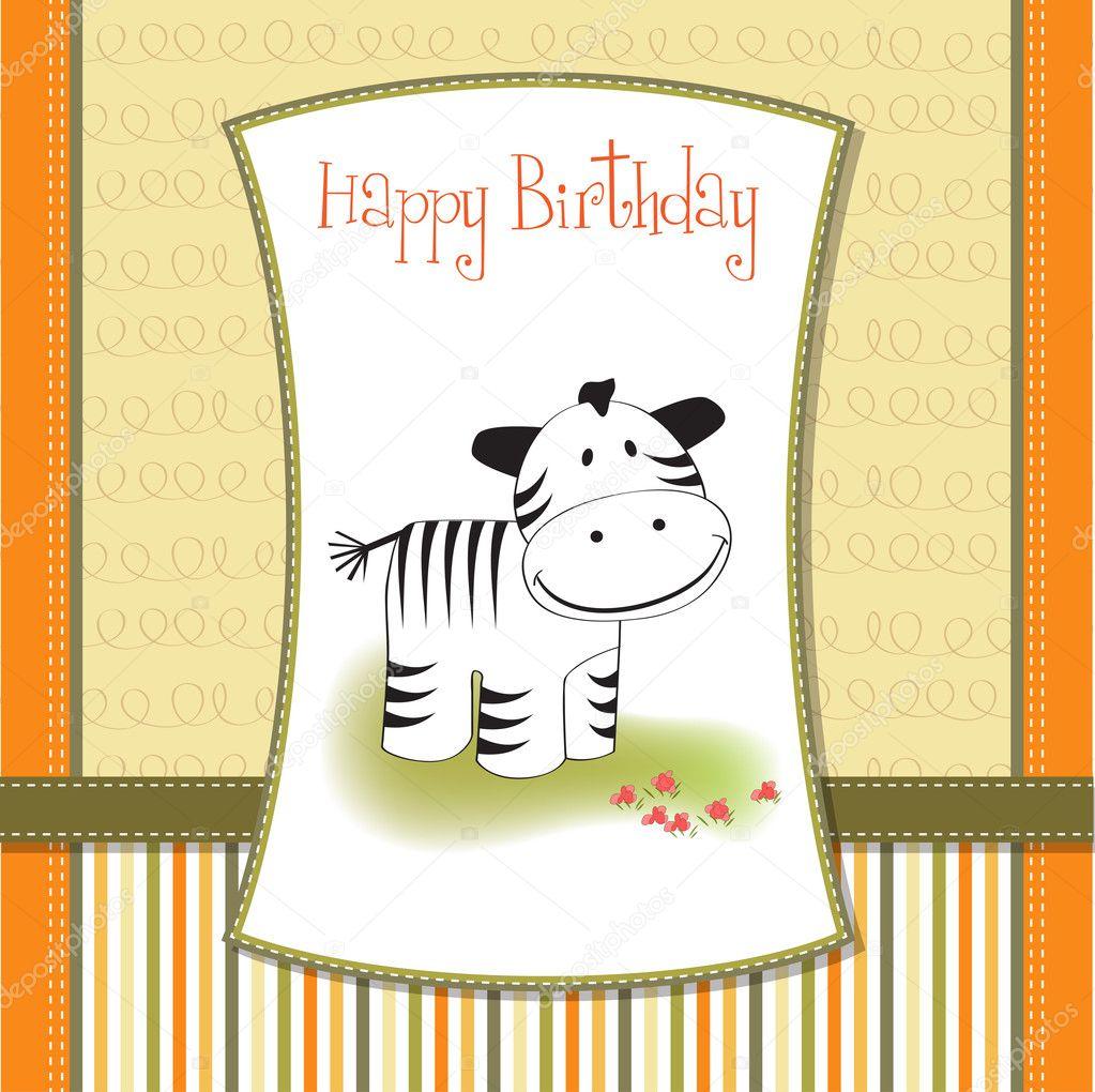 Cute baby shower card with zebra stock photo 169 claudiabalasoiu