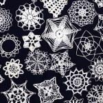 Christmas snowflakes background — Stock Photo #7288645