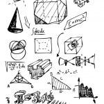 Постер, плакат: Math symbols
