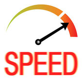 Speed Speedometer — Stock Vector