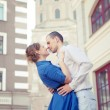 Couple portraits — Stock Photo