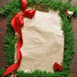 Christmas frame — Stock Photo #6762232