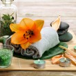 Items for  spa — Stock Photo