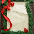 Stock Photo: Christmas frame