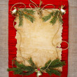 Christmas frame — Stock Photo #7579517