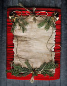 Vánoční rám — Stock fotografie