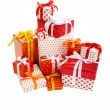 Stack of gift boxes — Stock Photo #7717689