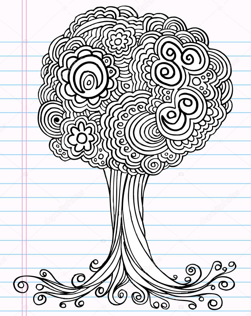 News And Entertainment Tree Drawing Jan 05 2013 193857