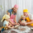 The family is preparing — Stock Photo #7415059