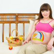 A pregnant woman — Stock Photo