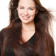 A beautiful girl with long hair — Stock Photo #7871786