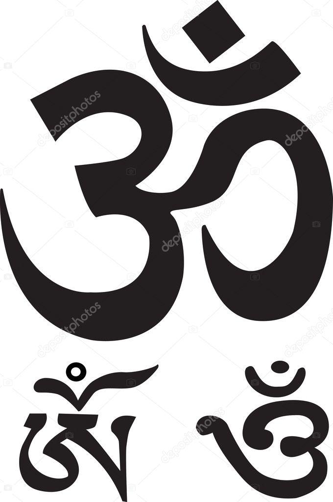 Om Symbol Stock Vector Wikki33 7303912