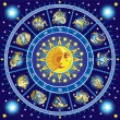 Horoscope circle — Stock Vector #7563810