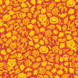 Royalty-Free Stock Immagine Vettoriale: Seamless Halloween background.