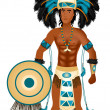 Aztec Carnival Costume — Stock Vector #7071900