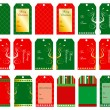 Christmas Tags — Stock Vector #7675777