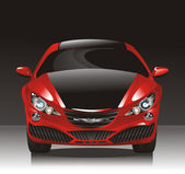 Concept car - sedan — Stock Vector
