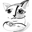 Sketch of a cat — Stock Photo #7235955