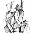 Abstract drawing — Photo