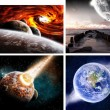 Stock Photo: Planet banner web pack